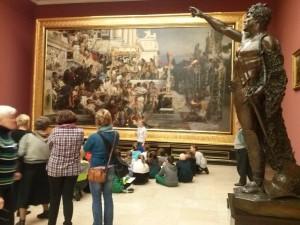 Kraków-lekcje muzealne w Galerii w Sukiennicach-2